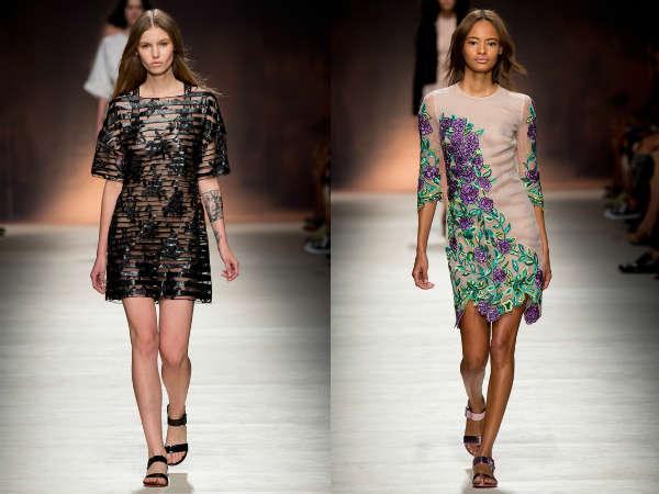 Transparent summer dresses