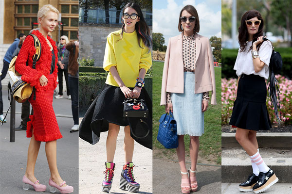 Street Style platform shoes