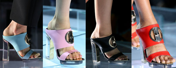 Transparent heel sandals Spring-Summer 2016