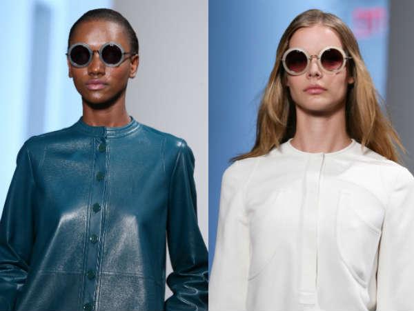 Round sunglasses Teashades