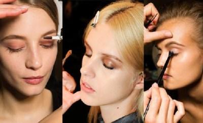 Best makeup trends Spring Summer 2015 -Eyes Eyebrows Lips