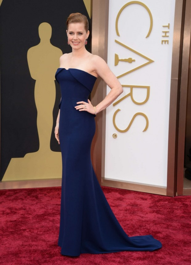 Amy Adams in Gucci dress, 2015