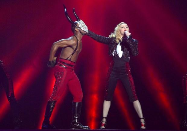 Madonna BRIT 2016