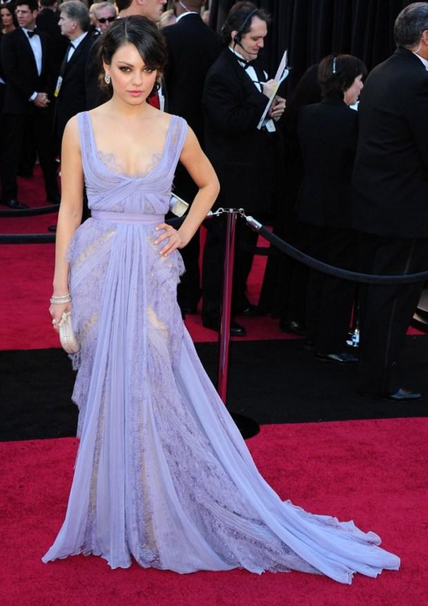 Mila Kunis in a dress by Elie Saab, 2011