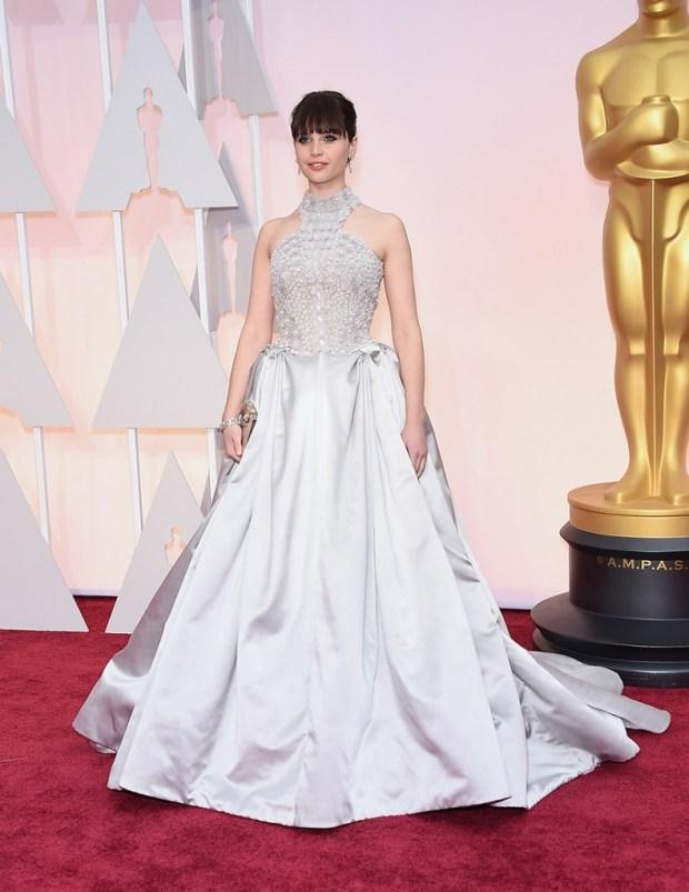 Felicity Jones Oscar 2016