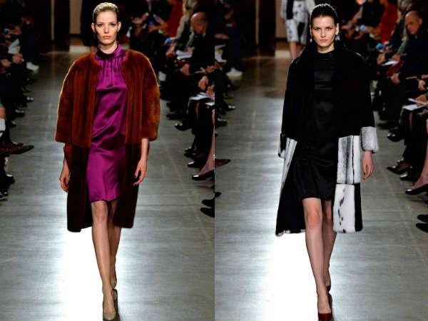 Oscar de la Renta Collection at New York Fashion Week