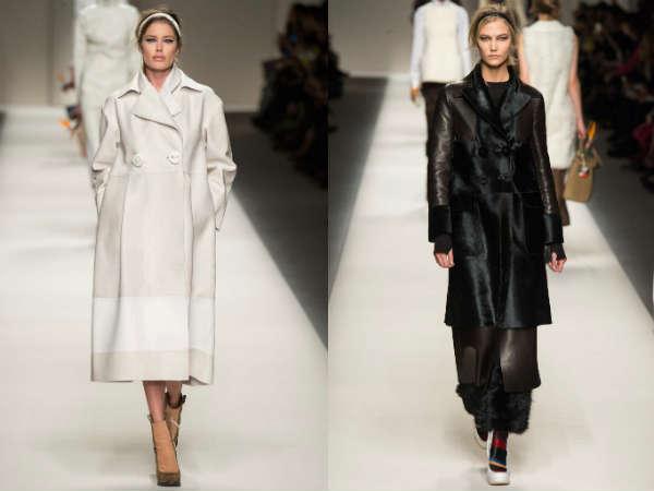 Fendi collection at Milan Fashion Week