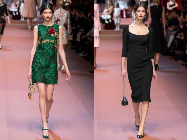 Milan Fashion Week Dolce & Gabbana collection