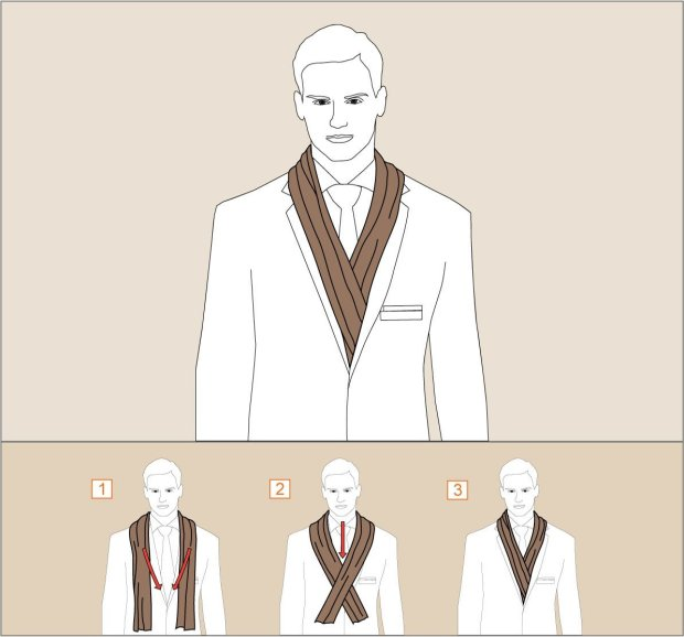 How to wear The Drape