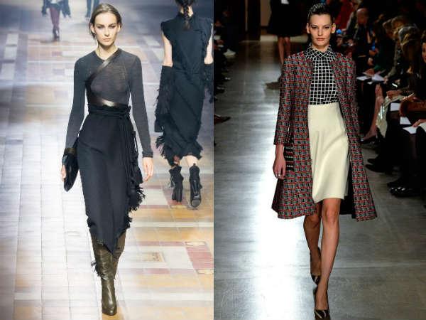 Fashion high waisted skirts Fall 2016 Winter 2017
