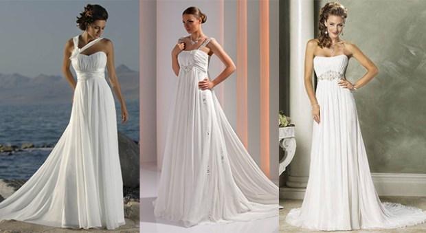 Grecian wedding dress 2016