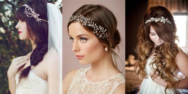 Wedding tiara hairstyles 2016