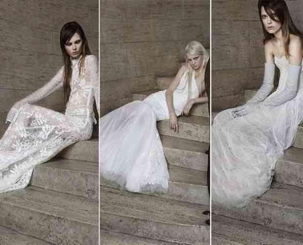 Transparent wedding dresses
