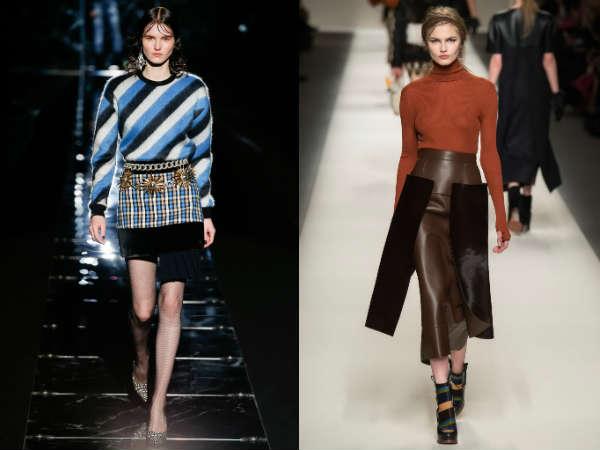 Vintage skirt for women Fall 2017
