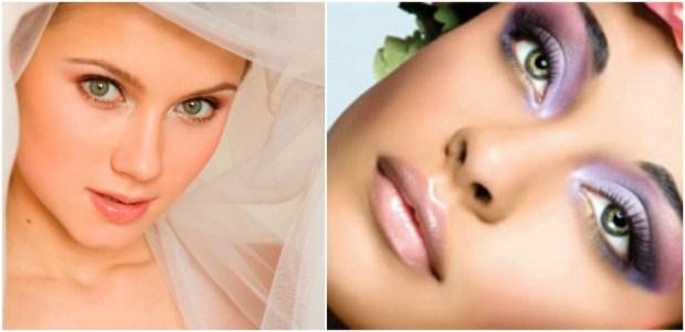 Wedding makeup for green eyes 2016