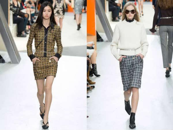 Trendy skirt color Fall/Winter 2016 2017