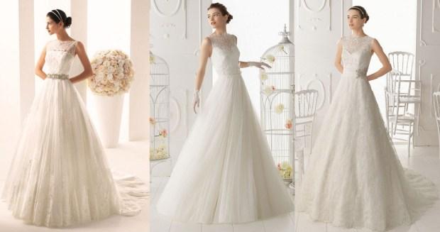 A line wedding dresses 2016