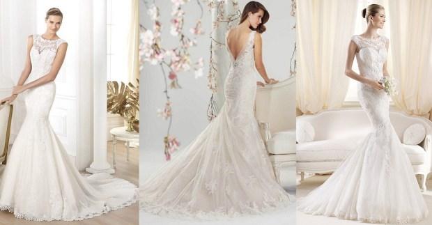 Trendy mermaid wedding gowns