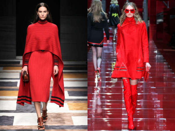 red color trends