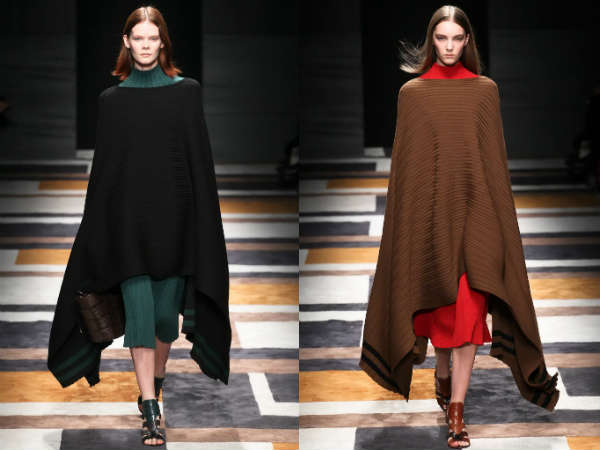 knitted capes