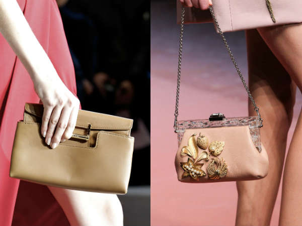 What bag accessories are in style in the cold season of the year