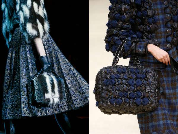 handbag matching the elegant attire