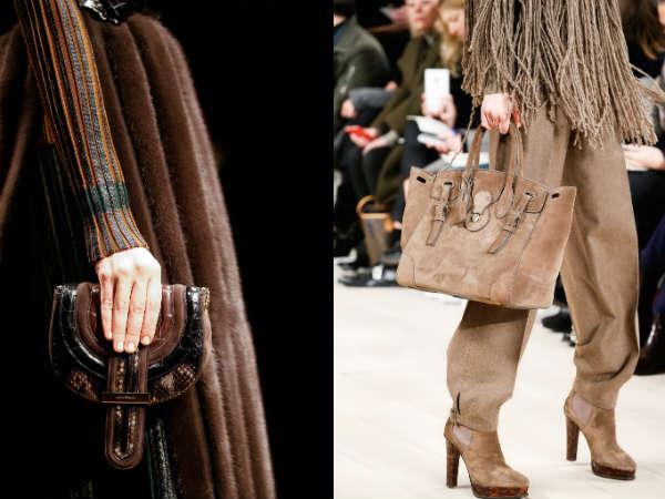 top designer suede bag