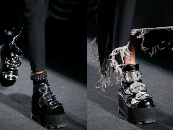 Platform ankle boots for women Fall-Winter 2016 2017