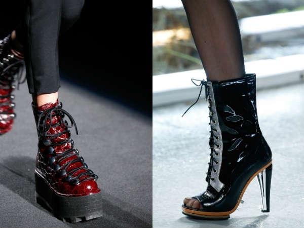 Fall-Winter 2016-2016 footwear with laces