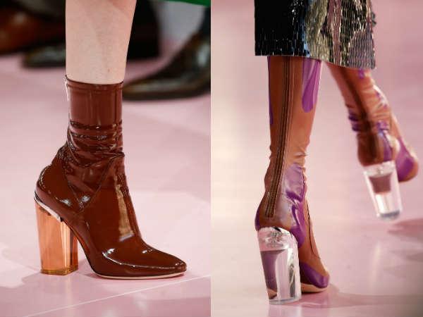 Comfortable trend thick heel