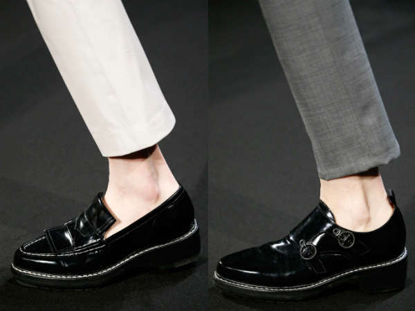 men style patent leather