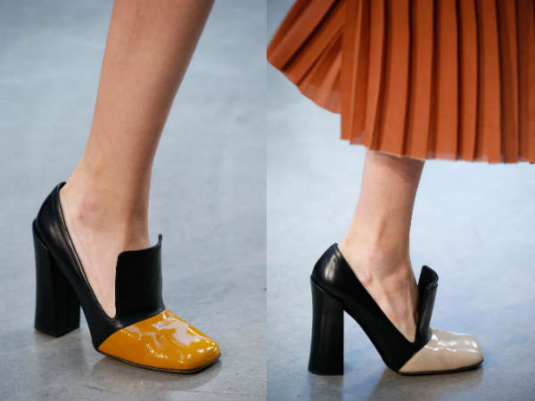 Women shoes Fall-Winter 2016 2017 accent on shoe toe