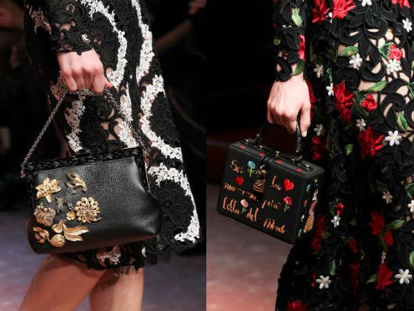 decorated ladies handbag