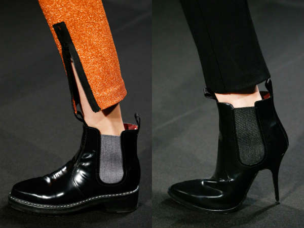 Ankle boots for women fall winter 2016 2017 décor