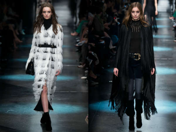 Coats fall winter 2016 2017 fringes and feathers