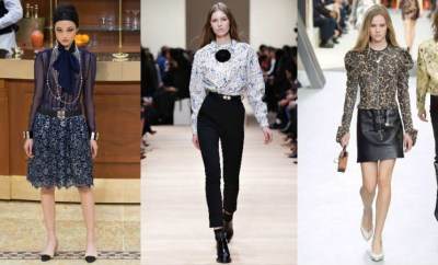 Trendy Blouses and Shirts Fall-Winter 2015-2016
