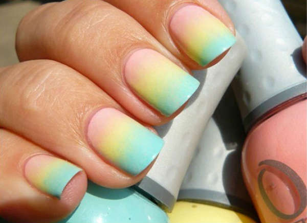 Ombre nails Fall 2016 Winter 2017
