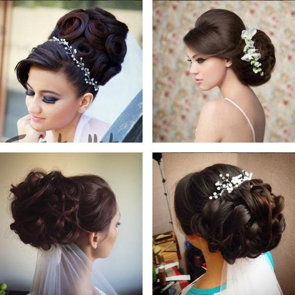 Wedding hairstyles 2017 voluminous bun