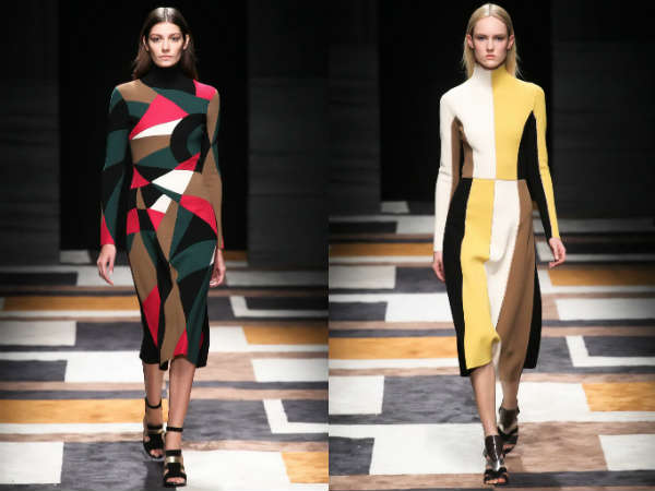 Office dresses Fall-Winter 2016 2017 prints