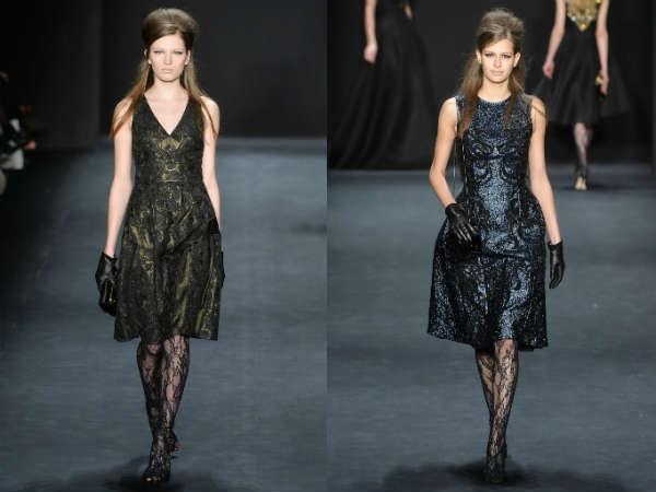 Designer cocktail dresses