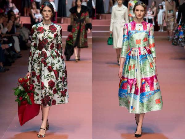 elegant fashion prints