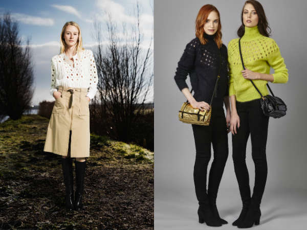 Sweaters for women Fall-Winter 2016 2017 cuts, perforations, cutouts