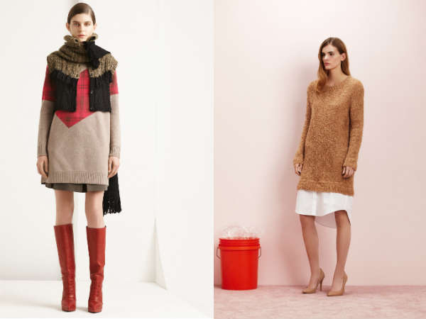 women long knitted