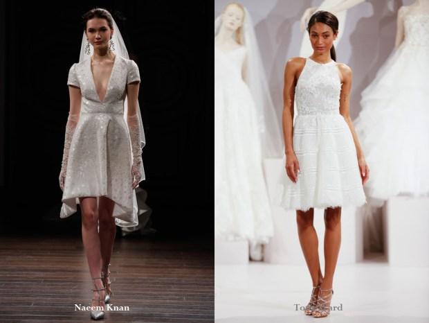 Short wedding dresses 2017