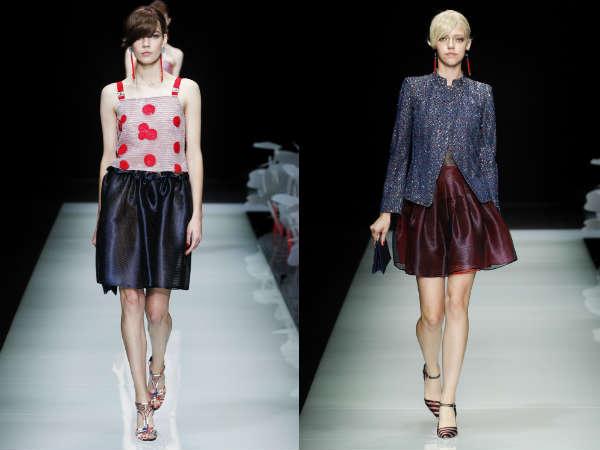Trendy flared skirts Spring-Summer 2017