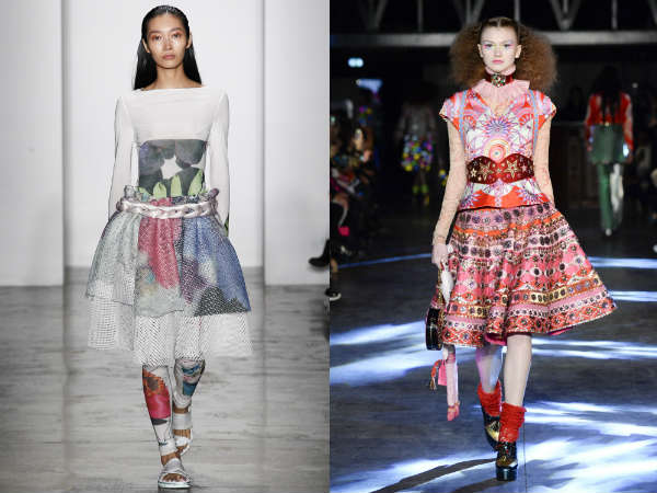 What skirts are in style in 2017