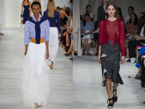 Trendy skirts designs Spring-Summer 2017