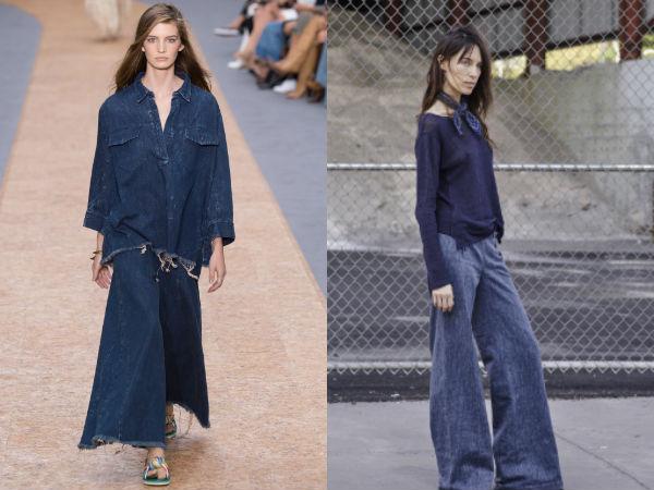 Wide-leg jeans 2017 women