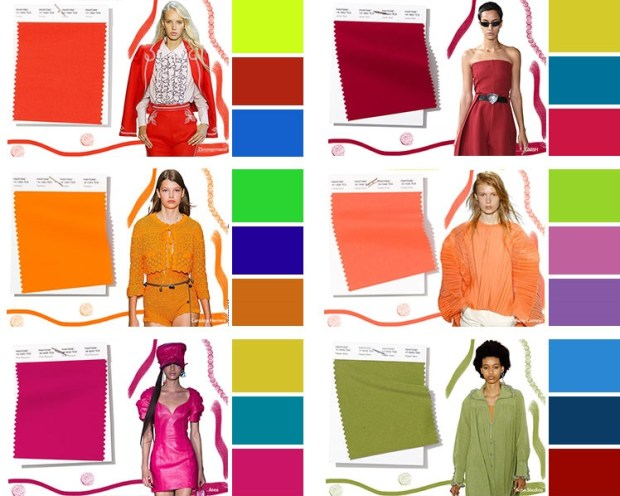 Color combinations spring summer 2020