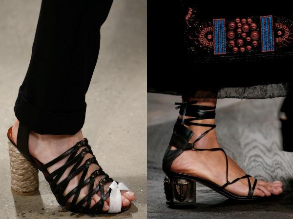 Womens heeled sandals 2017
